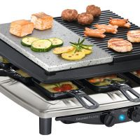 Gril raclette Steba RC 4 PLUS DELUXE CHROME